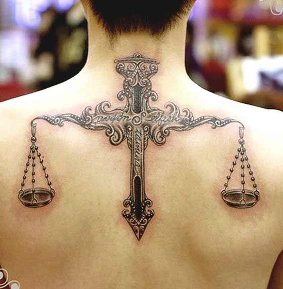 best libra tattoos with meaning on shoulder