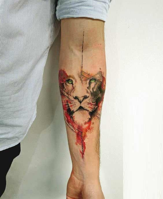 leo tattoos meaning